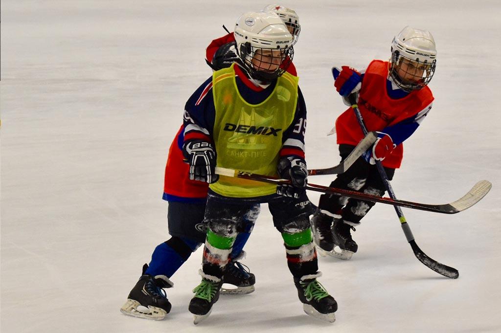Детский хоккей и первая тренировка