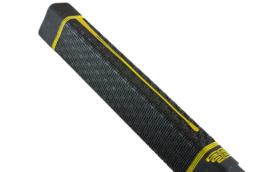 Ручка Buttendz Black STRETCH Grip Yellow Drip