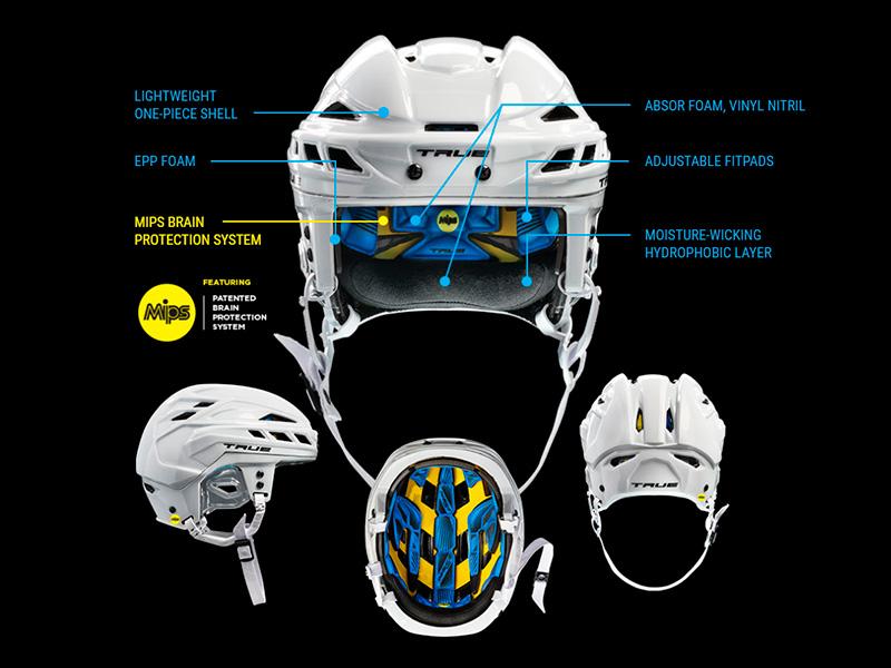 Технологии шлема TRUE Dynamic 9 PRO